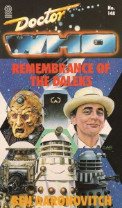 Remembrance of the Daleks Novelisation Cover